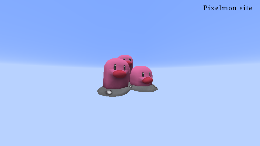 Pink Dugtrio