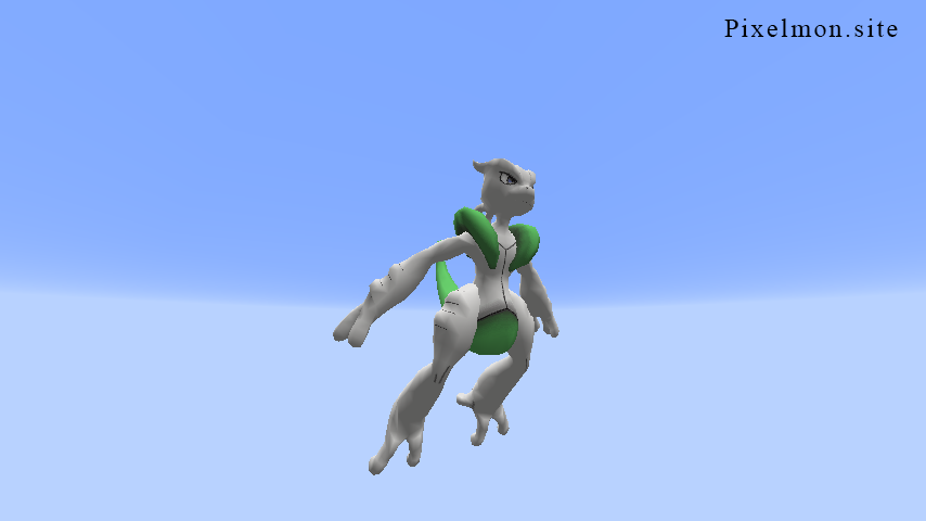 Shiny Mega X Mewtwo