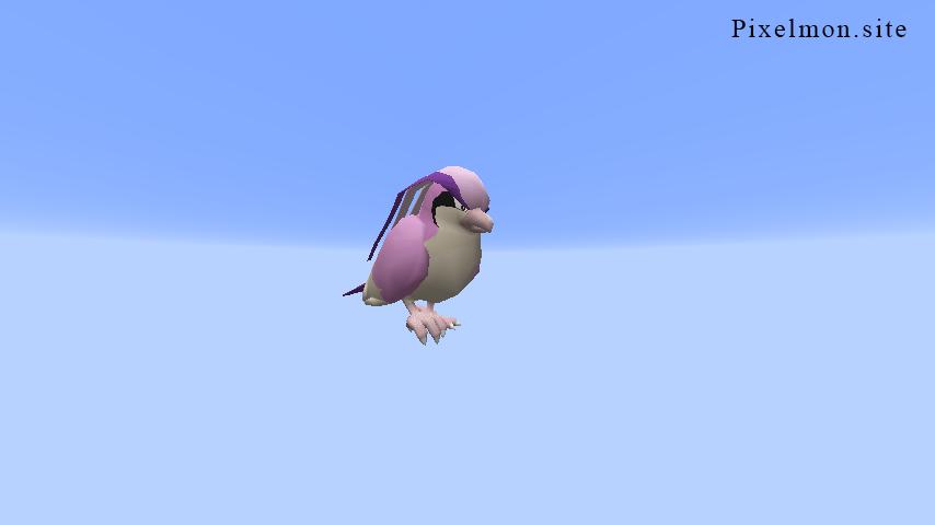Pink Pidgeot