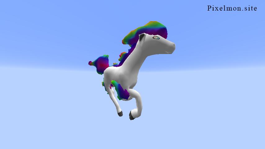 Rainbow Ponyta