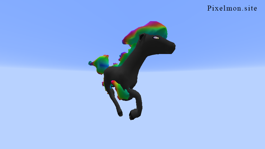 Shiny Rainbow Ponyta